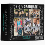 Collage de la graduación 2015 - personalizable - carpeta 5 cm