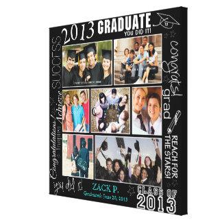 Collage de la graduación - completamente adaptable lona envuelta para galerías