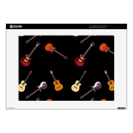 Collage de la guitarra acústica eléctrica y portátil 38,1cm skins