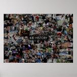 Collage de la historia del niño posters