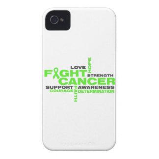 Collage de la lucha del linfoma de Non-Hodgkins Case-Mate iPhone 4 Protectores