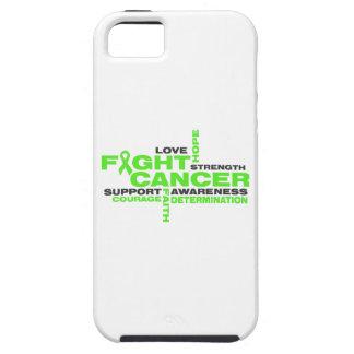 Collage de la lucha del linfoma de Non-Hodgkins iPhone 5 Case-Mate Cárcasas
