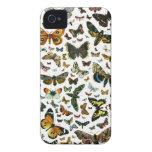 Collage de la mariposa Case-Mate iPhone 4 funda