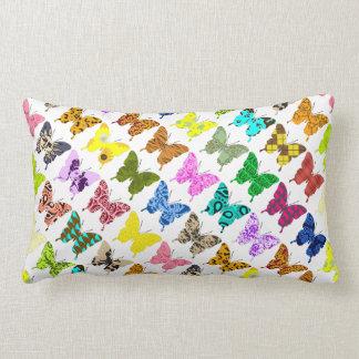 Collage de la mariposa almohada