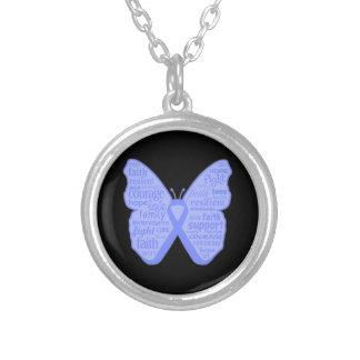 Collage de la mariposa del cáncer de estómago de p joyerías