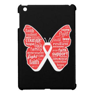 Collage de la mariposa del cáncer de hueso de pala