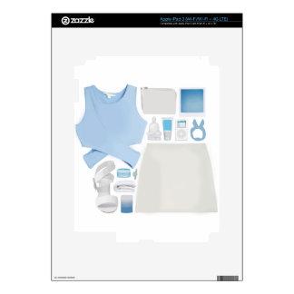 Collage de la moda iPad 3 pegatinas skins