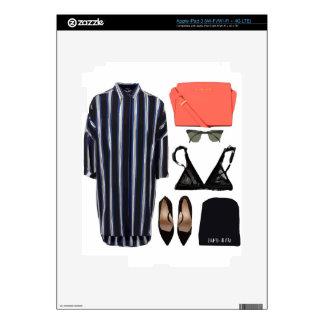 Collage de la moda pegatina skin para iPad 3