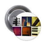 Collage de la música pin