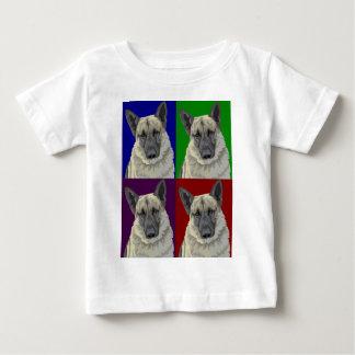 Collage de la oscuridad del pastor alemán t shirts