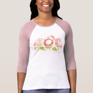 Collage de la primavera camisetas