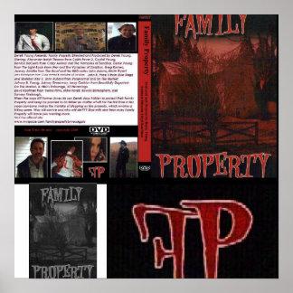 Collage de la propiedad de la familia posters