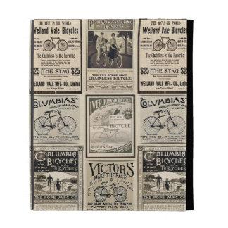 Collage de la publicidad de la bicicleta del