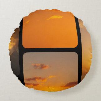 Collage de la puesta del sol