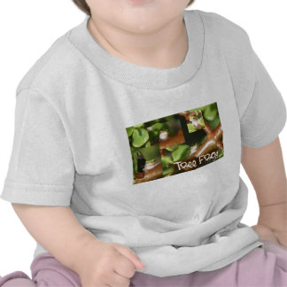 Collage de la rana arbórea, mismas diversas camisetas