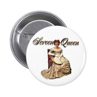 Collage de la reina de la pantalla pin