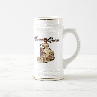Collage de la reina de la pantalla tazas de café