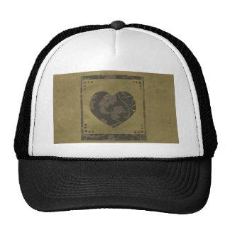 Collage de la serie del amor - corazón # 25 gorras de camionero