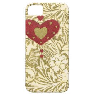Collage de la serie del amor - corazón # 32 iPhone 5 carcasa