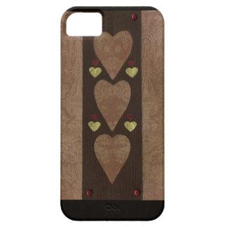 Collage de la serie del amor - corazón # 49 iPhone 5 funda