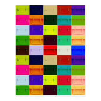 Collage de la taleguilla tarjeta postal