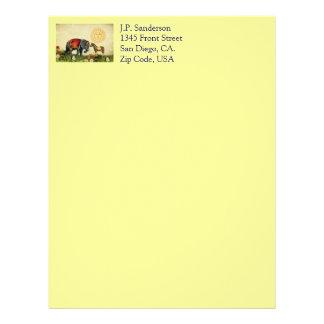 Collage de la tarjeta del día de San Valentín del Membretes Personalizados