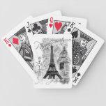 Collage de la torre Eiffel de París Barajas