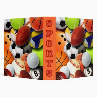 """Collage de las bolas de los deportes carpeta 1 1/2"""""""