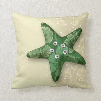 collage de las estrellas de mar almohada