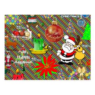 Collage de las Felices Navidad Postales