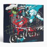 """Collage de Lineart del guarda de Batman Gotham Carpeta 1 1/2"""""""