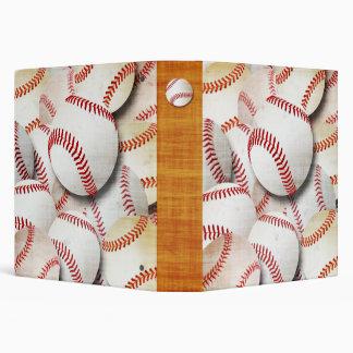 """Collage de los béisboles carpeta 1 1/2"""""""