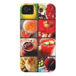 Collage de los cócteles de Margarita iPhone 4 Case-Mate Cárcasa