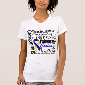 Collage de los cuidadores de Síndrome de Down Camisas