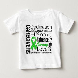 Collage de los cuidadores del cáncer del riñón t-shirts