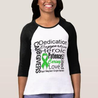 Collage de los cuidadores del cáncer del riñón t shirts