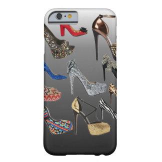 Collage de los tacones altos del zapato funda para iPhone 6 barely there