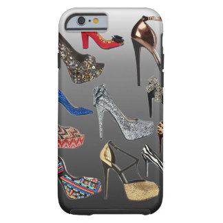 Collage de los tacones altos del zapato funda para iPhone 6 tough
