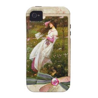 Collage de los Windflowers del Waterhouse iPhone 4/4S Carcasa