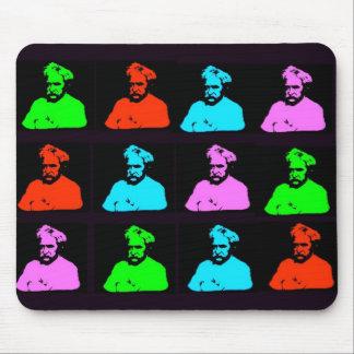 Collage de Mark Twain Alfombrillas De Ratones