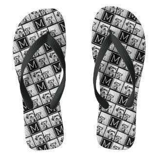 Collage de moda blanco y negro de la foto con el