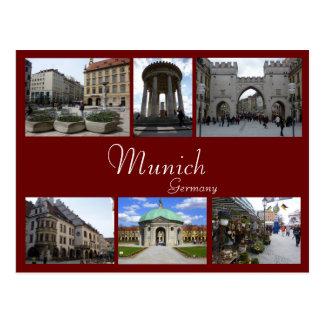 Collage de Munich Postales
