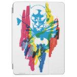 Collage de neón del marcador de Batman Cubierta De iPad Air