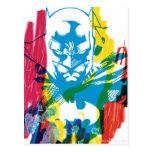 Collage de neón del marcador de Batman Postal