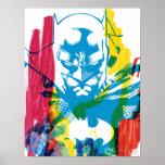 Collage de neón del marcador de Batman Posters