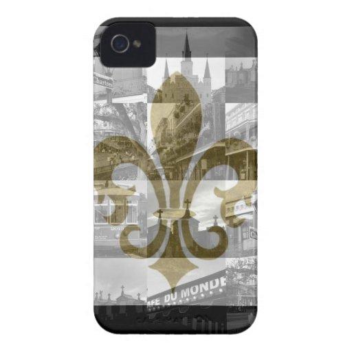 Collage de New Orleans [caja de la casamata del iPhone 4 Cárcasas