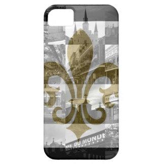 Collage de New Orleans [caja de la casamata del iP iPhone 5 Case-Mate Carcasa