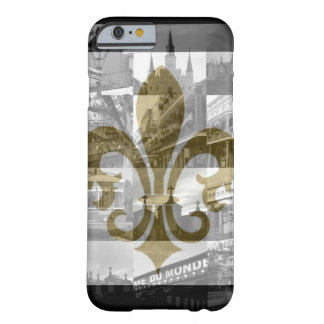 Collage de New Orleans [caso del iPhone 6] Funda Barely There iPhone 6