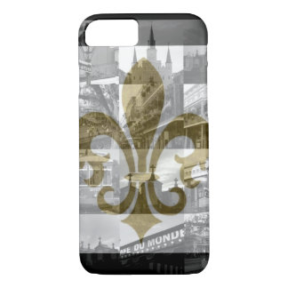 Collage de New Orleans [caso del iPhone 7] Funda iPhone 7