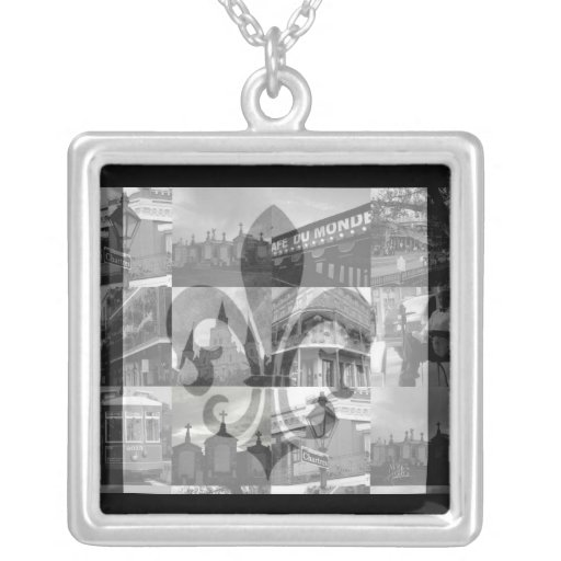 Collage de New Orleans [collar]